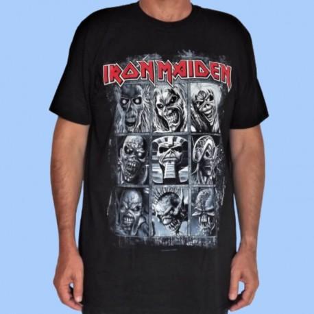 Camiseta IRON MAIDEN - 9 Eddies