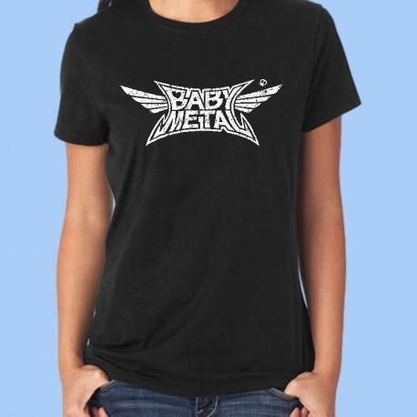 Camiseta mujer BABYMETAL - Logotipo Vintage