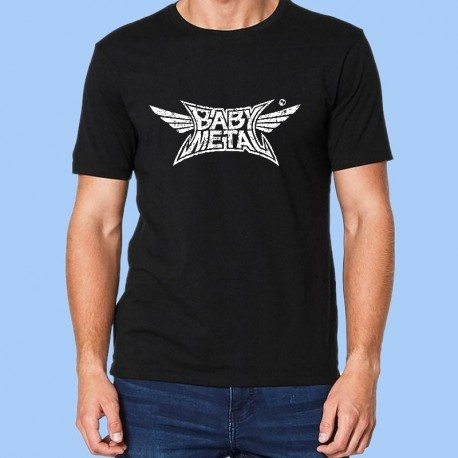 Camiseta hombre BABYMETAL - Logotipo Vintage