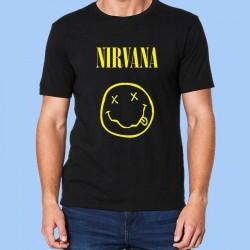 Camiseta hombre NIRVANA - Smiley