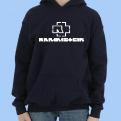 Sudadera RAMMSTEIN - Logotipo blanco