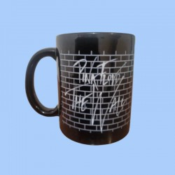Taza PINK FLOYD - The Wall - Logotipo blanco