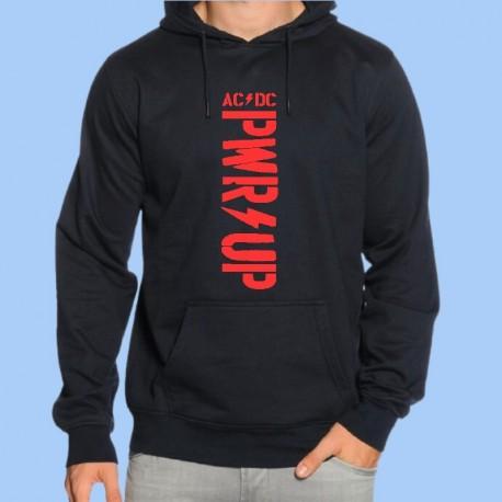 Sudadera AC/DC - Power Up - Logotipo rojo