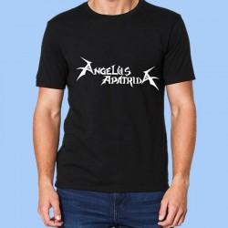 Camiseta hombre ANGELUS APATRIDA - Logotipo blanco
