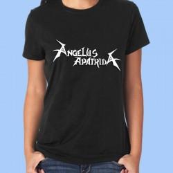 Camiseta mujer ANGELUS APATRIDA - Logotipo blanco