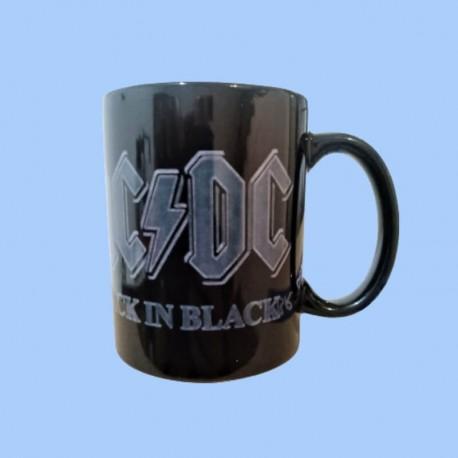 Taza AC/DC - Back In Black
