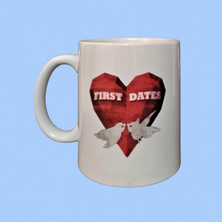 Taza blanca - First Dates
