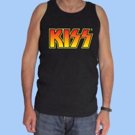 Camiseta sin mangas hombre KISS - Logotipo