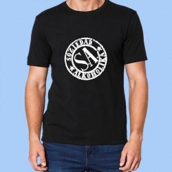 Camiseta hombre SOZIEDAD ALKOHOLIKA (S.A.)  Logotipo blanco